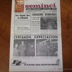 Cine: SEMINCI BOLETÍN INFORMATIVO. XIX SEMANA DE CINE DE VALLADOLID Nº 6 – 1974.. Lote 43141258