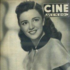 Cine: CINE MUNDO Nº 35 (1952). Lote 43267622