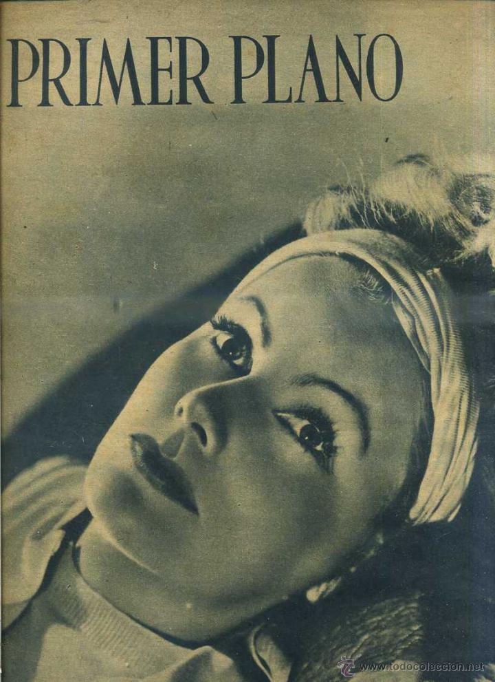 PRIMER PLANO Nº 86 GRETA GARBO (1942) (Cine - Revistas - Primer plano)