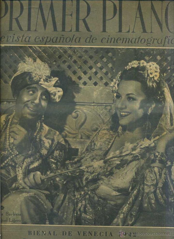 PRIMER PLANO Nº 99 EXTRA BIENAL VENECIA (1942) (Cine - Revistas - Primer plano)