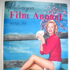 Cine: FILM ANNUAL 1958-59. Lote 43316201