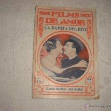 Cine: FILMS DE AMOR Nº 112. LA DAMITA DEL RITZ. Lote 43323647