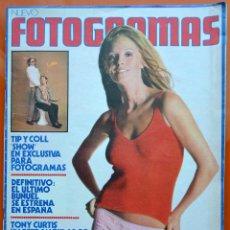 Cine: FOTOGRAMAS Nº 1278 - ABRIL 1973 - TIP Y COLL - TONY CURTIS - ELIZABETH HOOLEY - ANTONIO ISASI. Lote 43388269
