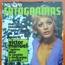 Cine: FOTOGRAMAS Nº 1159 - ENERO 1971 - VICTOR MANUEL - LENON - SELLERS - MASTROIANI. Lote 43388337