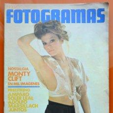 Cine: FOTGRAMAS Nº 1270 - FEBRERO 1973 - MIRTA MILLER - MONTY CLIFT - AMPARO SOLER LEAL - MARSILLACH. Lote 43388458