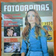 Cine: FOTOGRAMAS Nº 1276 - MARZO 1973 - BARBARA BOUCHET - RAPHAEL - PATTY SHEPARD. Lote 43400330