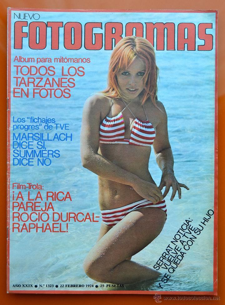 FOTOGRAMAS Nº 1323 - FEBRERO 1974 - TARZAN - ROCIO DURCAL - RAPHAEL - SERRAT (Cine - Revistas - Fotogramas)