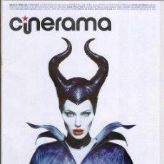 Cine: REVISTA CINERAMA ** MAYO 2014 - PORTADA: MALEFICA (DISNEY) CON ANGELINA JOLIE. Lote 51686414