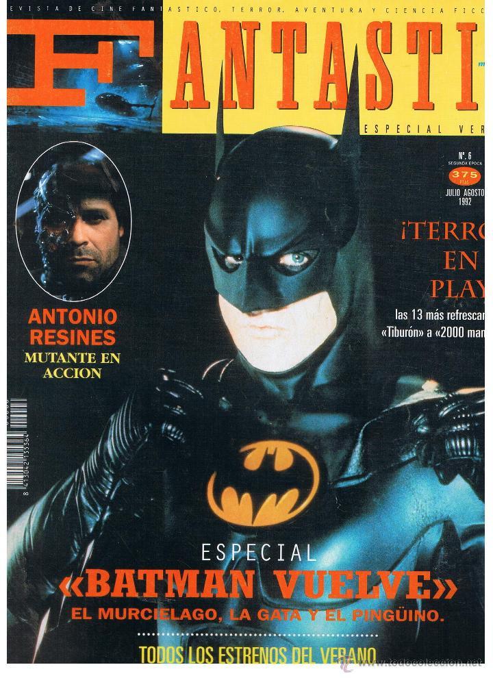 FANTASTIC MEGAZINE. NUMERO 6. JULIO/1992 (Cine - Revistas - Otros)