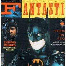 Cinéma: FANTASTIC MEGAZINE. NUMERO 6. JULIO/1992. Lote 43503328