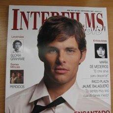 Cine: INTERFILMS Nº224 (DICIEMBRE 2007) PORTADA JAMES MARSDEN (LEER DESCRIPCION). Lote 109198887