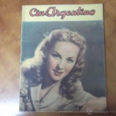 Cine: REVISTA CINE ARGENTINO Nº 268 - 1944 ELISA GALVE. Lote 43614416