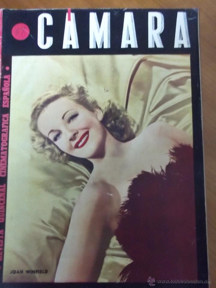 REVISTA CÁMARA Nº 59 - 1945 JOAN WINFIELD (Cine - Revistas - Cámara)