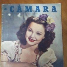 Cine: REVISTA CÁMARA Nº 149 - 1949 WANDA HENDRIX. Lote 43616393