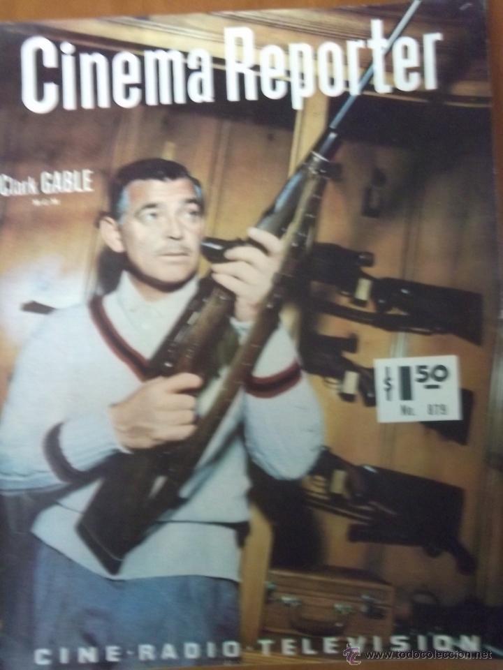 REVISTA CINEMA REPORTER Nº 879 CLARK GABLE (Cine - Revistas - Cinema)