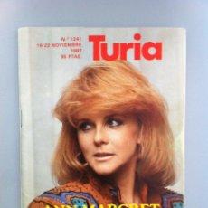 Cine: CARTELERA TURIA 1987. ANN MARGRET Nº 1241. Lote 43701858