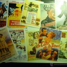 Cine: LOTE REPRODUCCIONES WESTERNS USA.-EN PAPEL Y FOTO-CARTELES ESPAÑOLES Y EXTRANJEROS. Lote 43776747