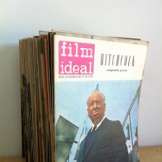 ---FILM IDEAL---. 60 NÚMEROS. REVISTA DE CINE. DE AÑOS 1960 A 1965.