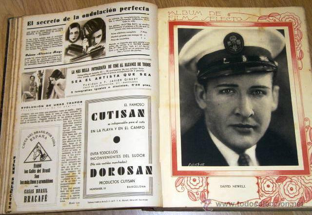 Cine: Tomo de 26 revistas encuadernadas Films Selectos en Barcelona 1933 - Foto 2 - 43857749