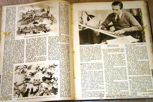 Cine: Tomo de 26 revistas encuadernadas Films Selectos en Barcelona 1933 - Foto 3 - 43857749