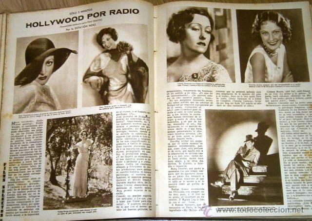 Cine: Tomo de 26 revistas encuadernadas Films Selectos en Barcelona 1933 - Foto 4 - 43857749