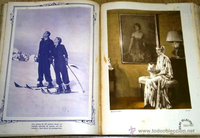 Cine: Tomo de 26 revistas encuadernadas Films Selectos en Barcelona 1933 - Foto 6 - 43857749