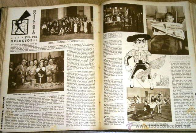 Cine: Tomo de 26 revistas encuadernadas Films Selectos en Barcelona 1933 - Foto 8 - 43857749