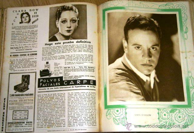 Cine: Tomo de 26 revistas encuadernadas Films Selectos en Barcelona 1933 - Foto 9 - 43857749