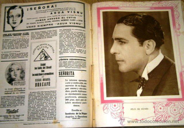 Cine: Tomo de 26 revistas encuadernadas Films Selectos en Barcelona 1933 - Foto 10 - 43857749