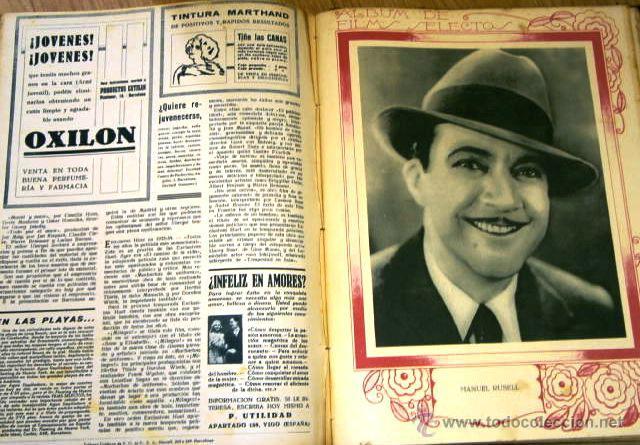 Cine: Tomo de 26 revistas encuadernadas Films Selectos en Barcelona 1933 - Foto 11 - 43857749