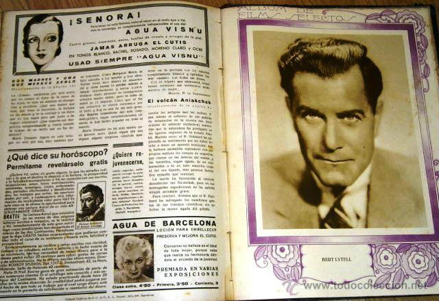 Cine: Tomo de 26 revistas encuadernadas Films Selectos en Barcelona 1933 - Foto 12 - 43857749
