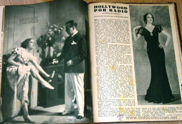 Cine: Tomo de 26 revistas encuadernadas Films Selectos en Barcelona 1933 - Foto 13 - 43857749
