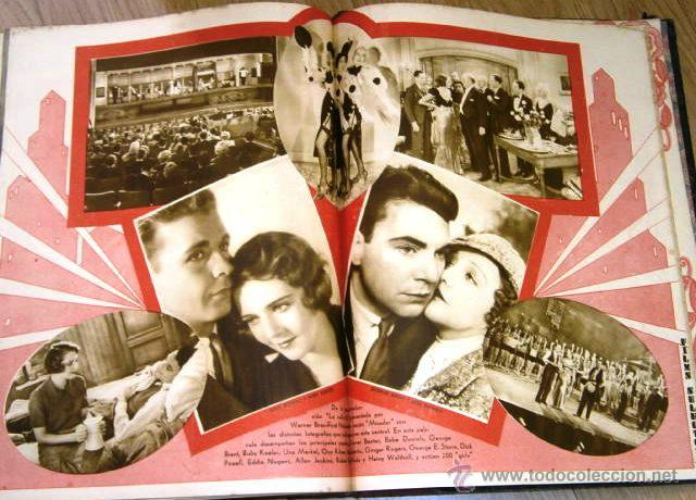Cine: Tomo de 26 revistas encuadernadas Films Selectos en Barcelona 1933 - Foto 14 - 43857749