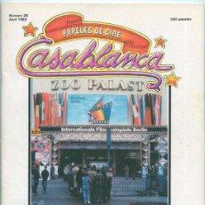 PAPELES DE CINE CASABLANCA - Nº 28 - 1983 - BERLIN 83, SAM FULLER, SKOLIMOWSKI, GANDHI
