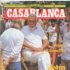 Cine: PAPELES DE CINE CASABLANCA - Nº 35 - 1983 VENECIA, SAN SEBASTIÁN, J. SACRISTÁN, STAR WARS, J. HUSTON. Lote 43861200