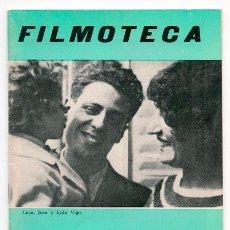 Cine: FILMOTECA - TEMPORADA 1972-73 - Nº 6 - JEAN VIGO, ADOLFO G. ARRIETA, ROBERTO ROSSELLINI. Lote 43861476