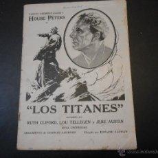 Cine: REVISTA ORIGINAL UNIVERSAL FILMS - 1925. Lote 44087938