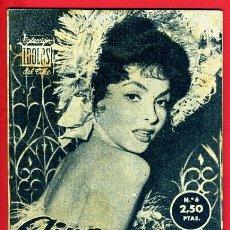 Cinema: REVISTA , GINA LOLLOBRIGIDA , COLECCION IDOLOS DEL CINE , ORIGINAL , B. Lote 54418790