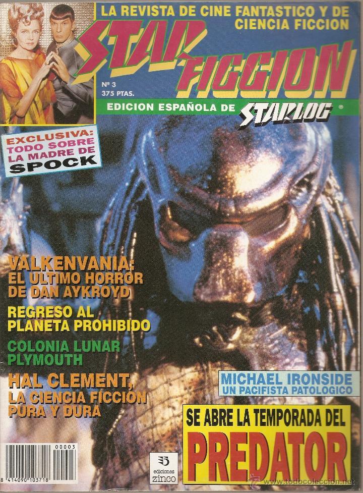 REVISTA DE CINE FANTASTICO Y CIENCIA FICCION STAR FICCION Nº 3 (Cine - Revistas - Star Ficcion)