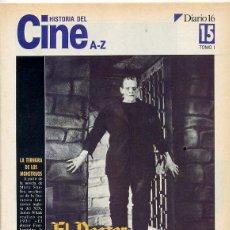 Cine: FASCICULO HISTORIA DEL CINE - DIARIO 16 - Nº 15. Lote 44236321
