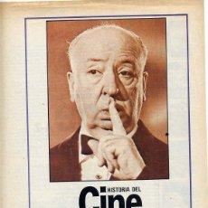 Cine: FASCICULO HISTORIA DEL CINE - INDICE TOMO A-I. Lote 44236536