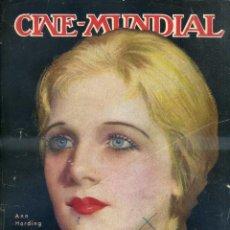 Cine: CINE MUNDIAL SEPTIEMBRE 1931. Lote 44238121