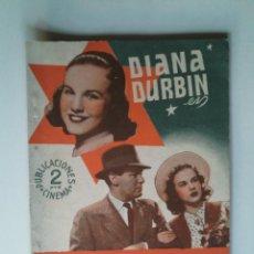 Cine: MENTIROSILLA DE DIANA DURBIN - PUBLICACIONES CINEMA - 66 PÁGINAS - 15X21 - VER FOTOS -. Lote 44255356