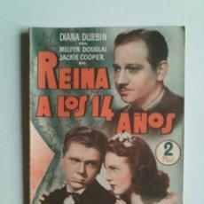 Cine: REINA A LOS 14 AÑOS DE DIANA DURBIN - PUBLICACIONES CINEMA - 66 PÁGINAS - 15X21 - VER FOTOS -. Lote 44255935