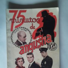 Cine: NOVELA DE LA PELÍCULA 75 MINUTOS DE ANGUSTIA DE LEWIS STONE - NUEVO - 66 PÁGINAS - 15X21 - VER FOTOS. Lote 44262048