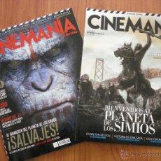 Cine: CINEMANIA, NÚMERO CON EL PLANETA DE LOS SIMIOS EN PORTADA, INCLUYE SEPARATA DEDICADA AL TEMA.. Lote 44286924