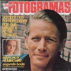 Cinema: FOTOGRAMAS, Nº 1629, ENERO 1980, PETER STRAUSS, MARGAUX HEMINGWAY, JACK NICHOLSON. Lote 44305353
