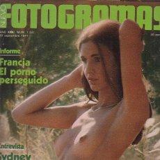 Cine: FOTOGRAMAS Nº 1511 SEPTIEMBRE 1977 - SYDNEY POLLACK. Lote 288977383