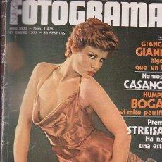 Cine: FOTOGRAMAS Nº 1475 - BARBRA STREISAND , ROSA VALENTI, GIANCARLO GIANNINI. Lote 44311012