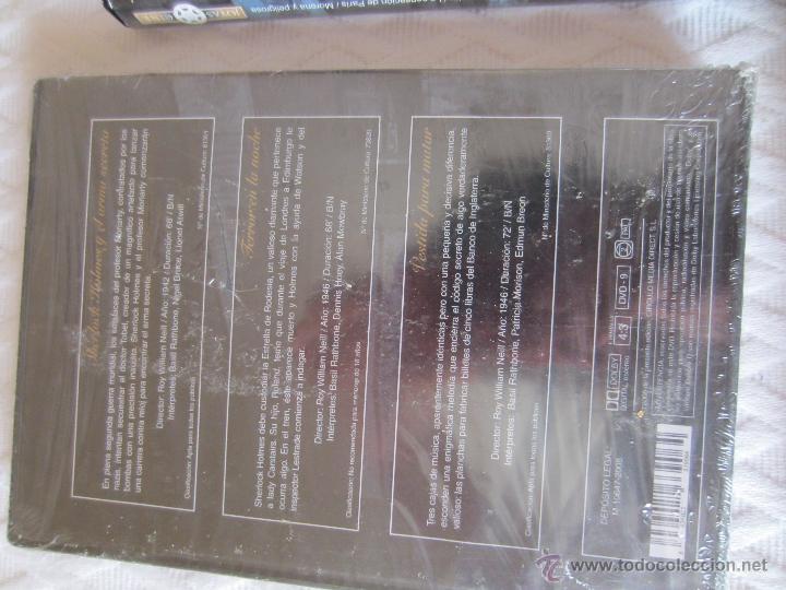 Cine: Seis DVDde joyas del cine, Sherlock,Ana Karenina (histórico)Robin de los bosques - Foto 3 - 44330523